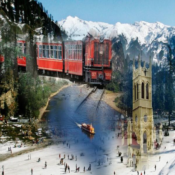 Glorious Himachal  6N/7D ( 2N  shimla , 3N  Manali, 1N Chandigarh )