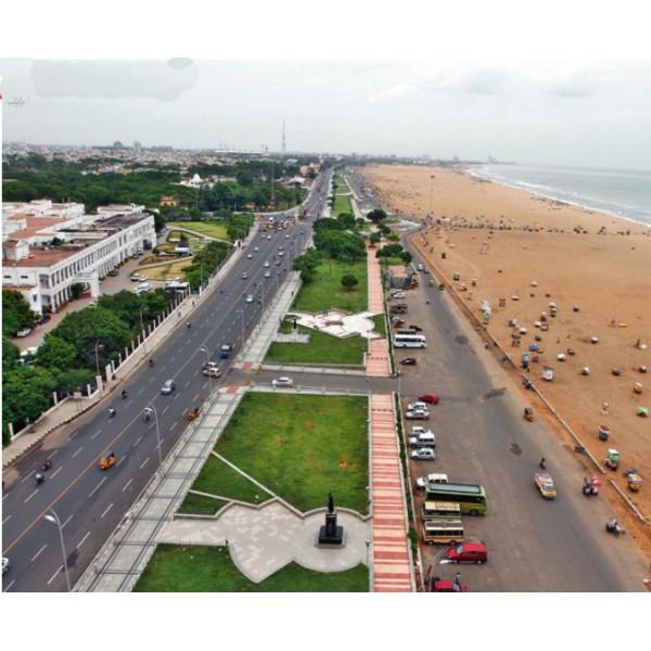 Marina and Fort St George Tour, Chennai