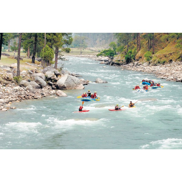 Exciting Rafting + Duckie Rides in Yamuna 1N/2D