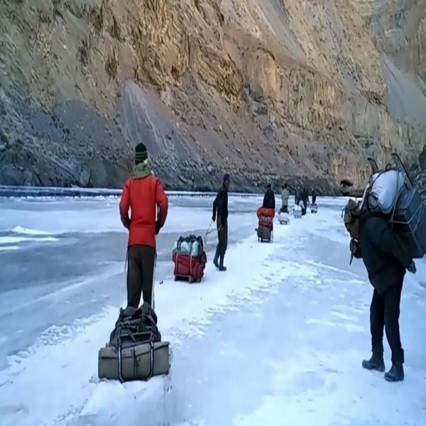 THE CHADAR FROZEN RIVER TREK 7N/8D