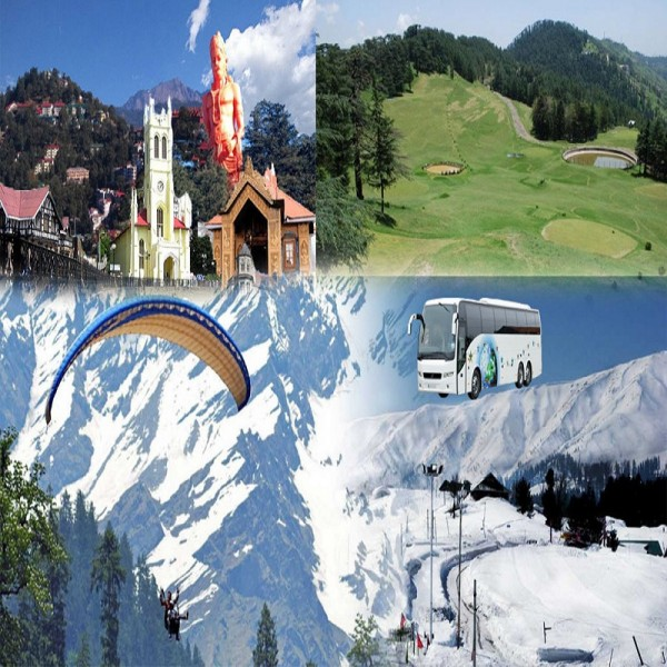 Manali Volvo Tour Package from Delhi 4N/5D
